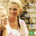 You are the temple of God, and His Spirit dwells in you!