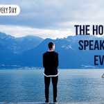Listen...the Holy Spirit speaks to you every day!