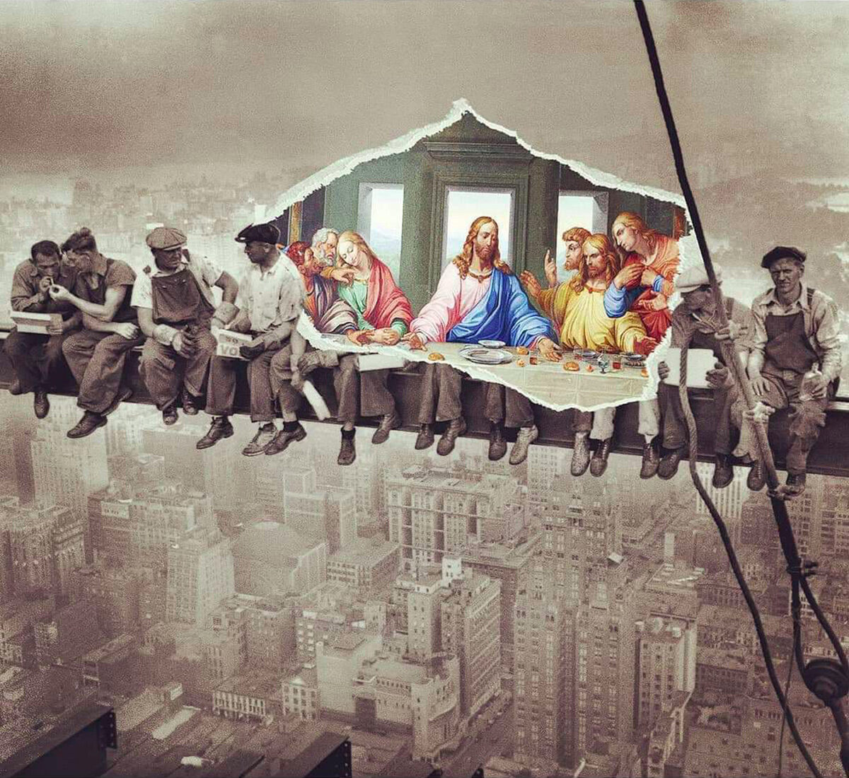 Breakfast in the Sky with the Last Supper
