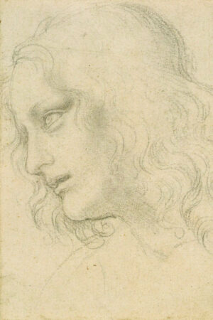 Study of the head of St Philip