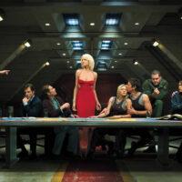 Battlestar Galactica scene