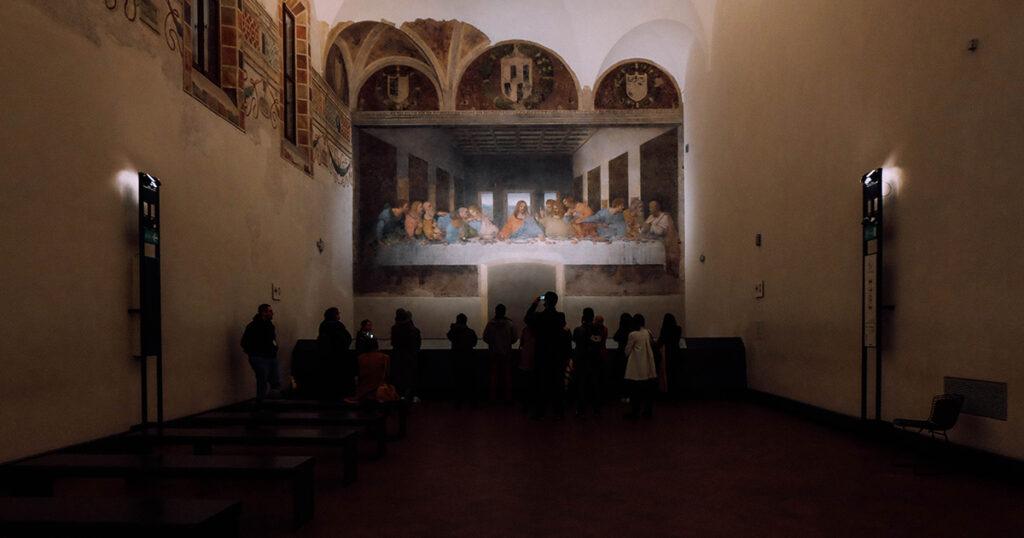 Last Supper in Santa Maria delle Grazie, Milan