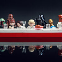 Last Supper scene for LEGO Star Wars