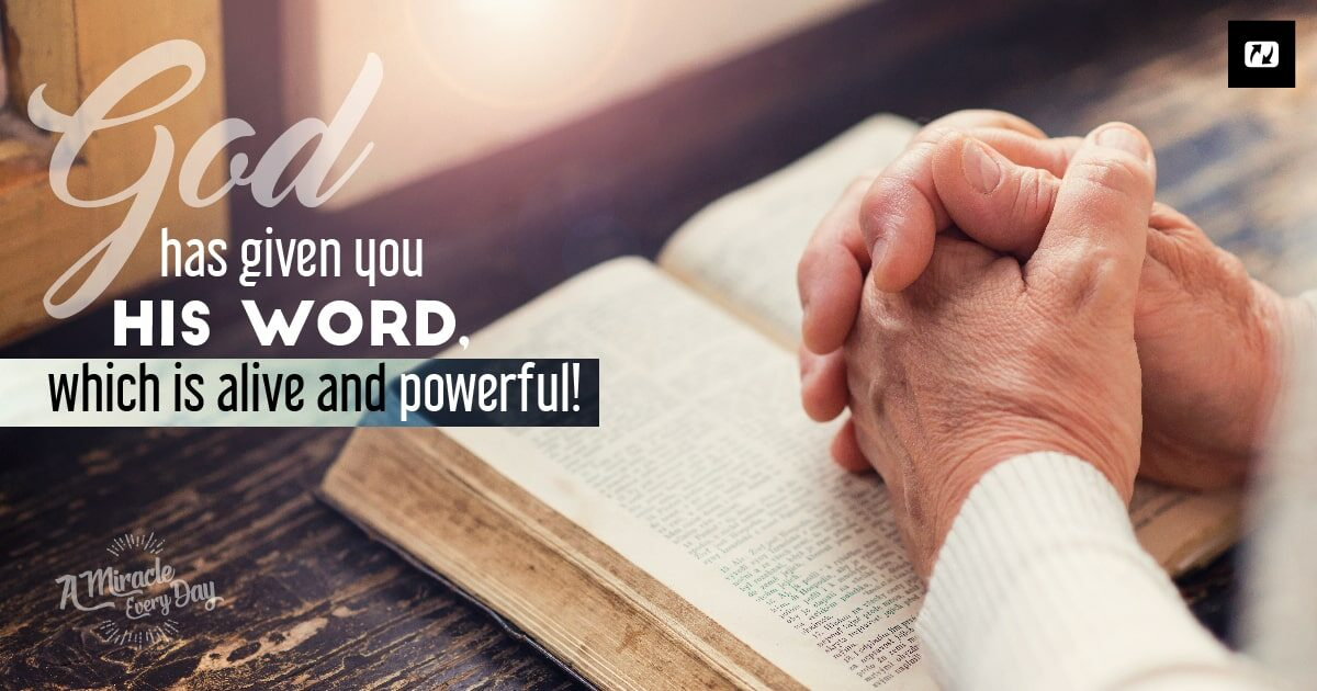 Powerful   through His Word | Jesus net