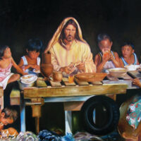 Hapag ng Pag-asa (The Table of Hope) by the Filipino Artist Joey Velasco