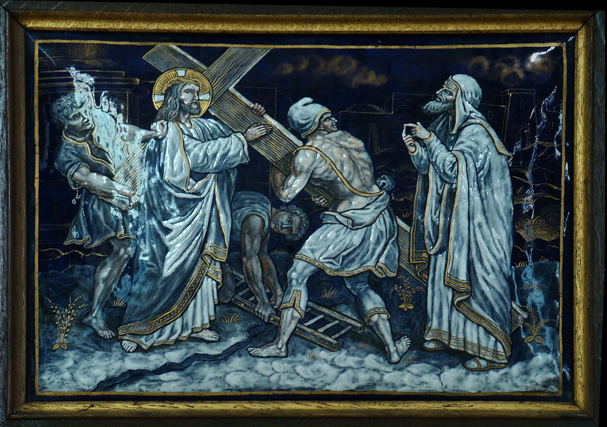 SECOND STATION: Jesus takes up his Cross