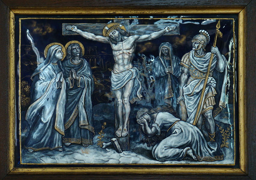TWELFTH STATION: Jesus dies on the Cross