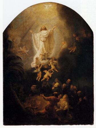 The Ascension Of Christ by Rembrandt van Rijn (1636)
