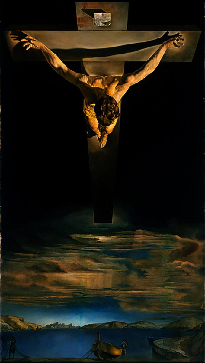 Christ of Saint John on the Cross by Salvador Dali