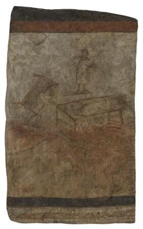 Christ Healing the Paralytic - Dura-Europos circa 232