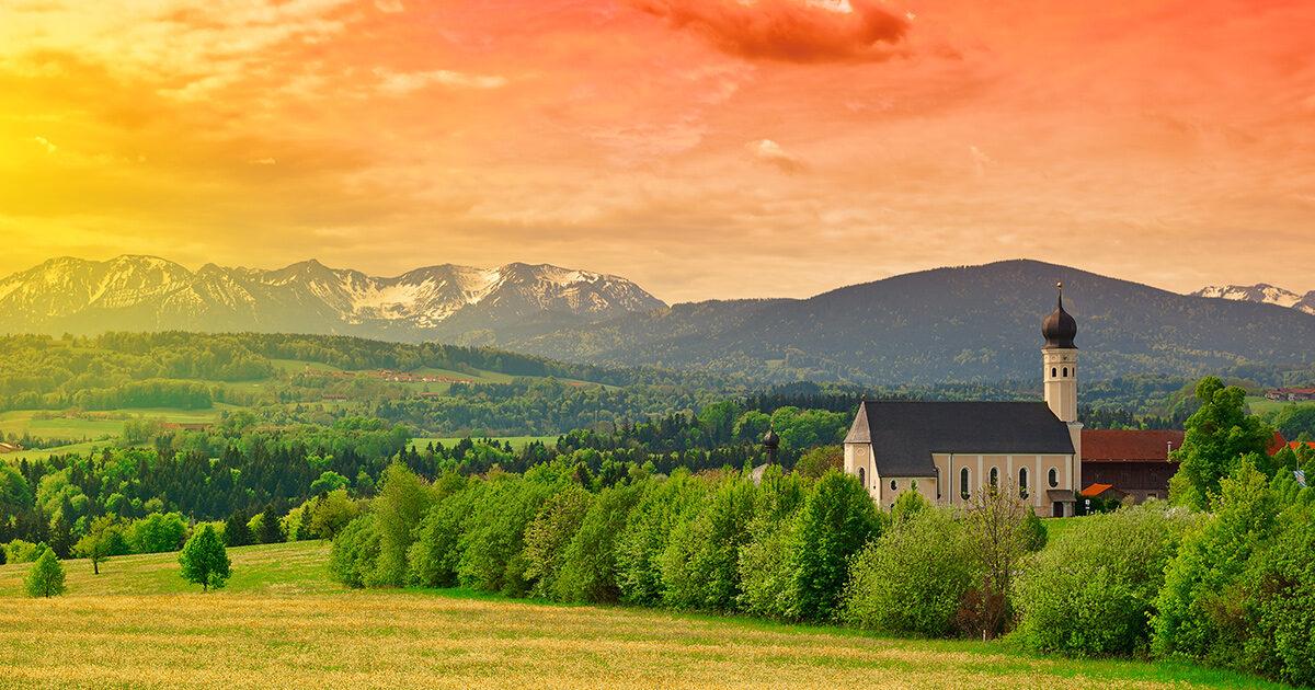 Church in the hills