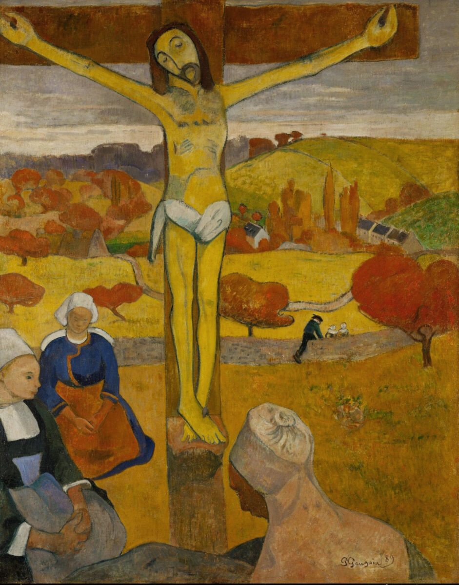The Yellow Christ by Gauguin