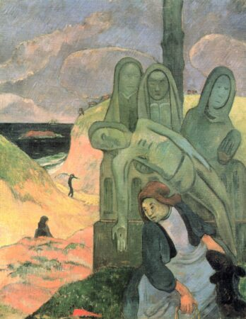 The Green Christ by Gauguin