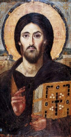 Christ Pantocrator icon from St. Catherine's Monastery at Sinai