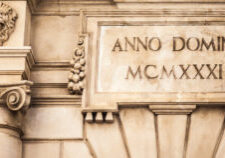 Anno Domini (the year of our Lord)