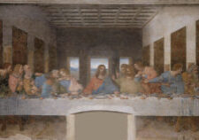 Last Supper Leonardo Da Vinci